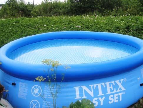 Недорогой надувной бассейн