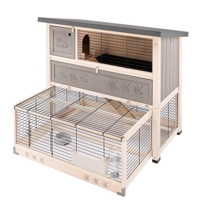 Клетка для кроликов передвижная