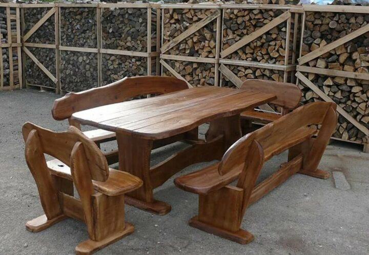 Деревянные изделия для дачи