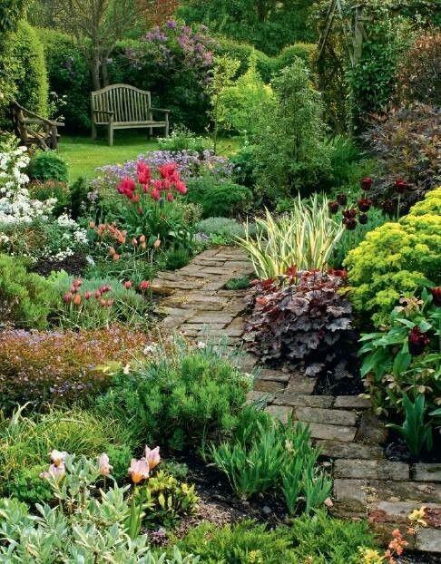 Ландшафтный дизайн палитра сада