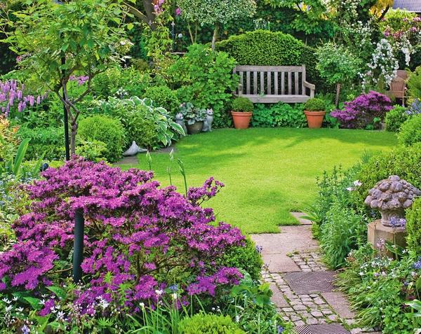 Большая идея для маленького сада