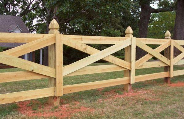 Ковбойский забор