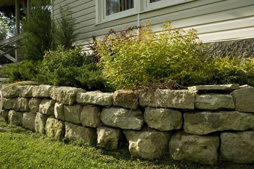 podpornaia stenka kamen