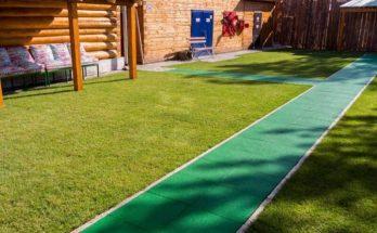 Резиновые дорожки для дачи и сада