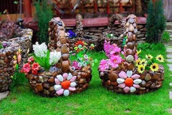 Идеи красивых цветников на даче