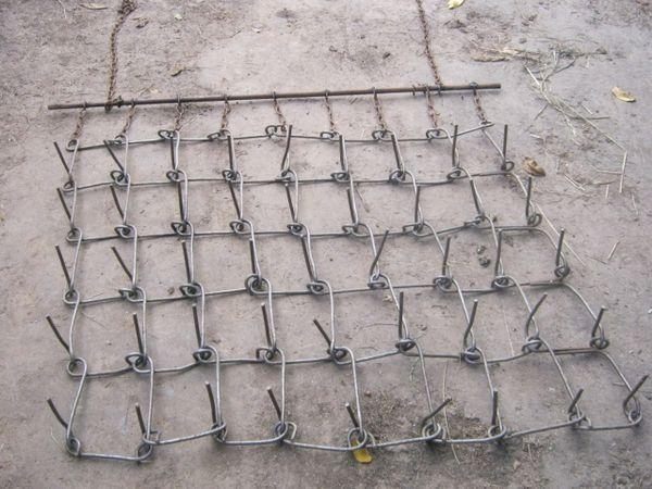 Сетчатая борона для удаления сорняков